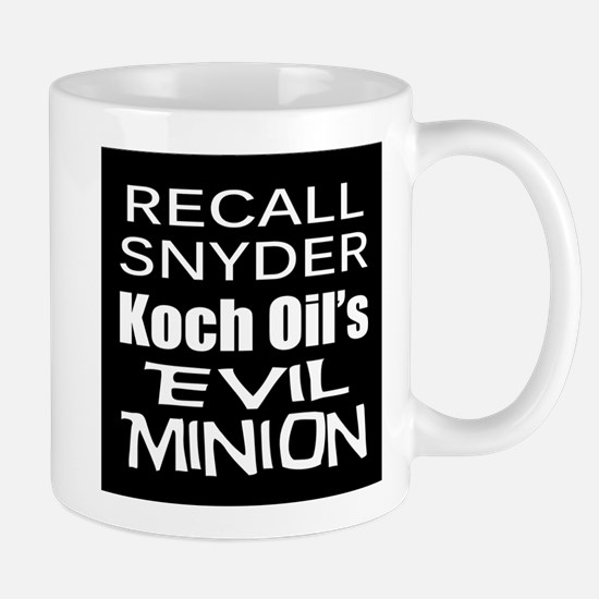 Recall Governor Rick Snyder Mug