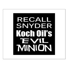 Recall Governor Rick Snyder Posters