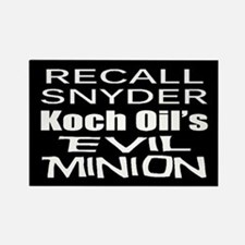 Recall Governor Rick Snyder Rectangle Magnet