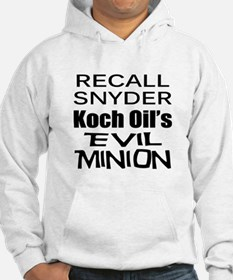 Recall Governor Rick Snyder Hoodie