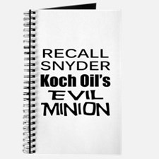 Recall Governor Rick Snyder Journal