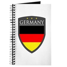 Germany Flag Patch Journal