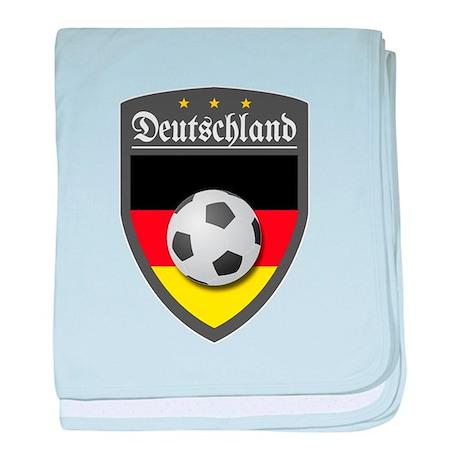 Germany (Deutsch) Ball baby blanket