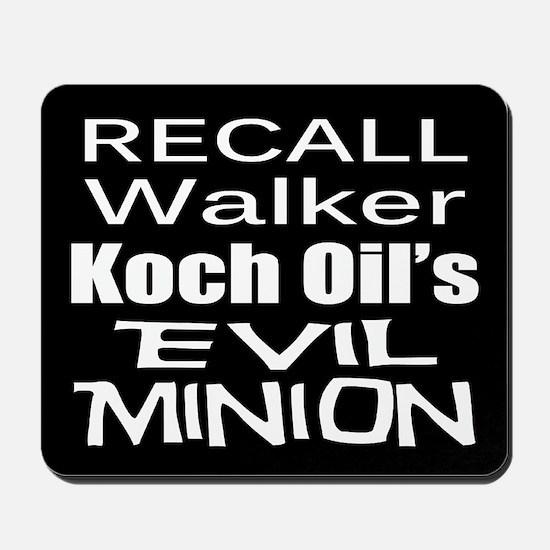 Recall Scott Walker Mousepad