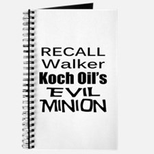 Recall Scott Walker Journal