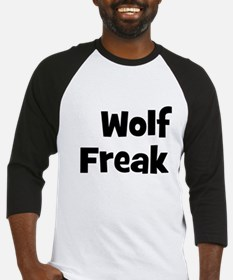 Wolf Freak Baseball Jersey