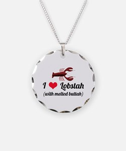 I Love Lobstah Necklace