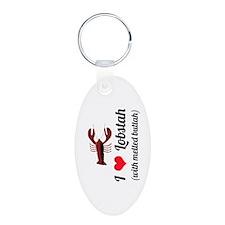I Love Lobstah Keychains