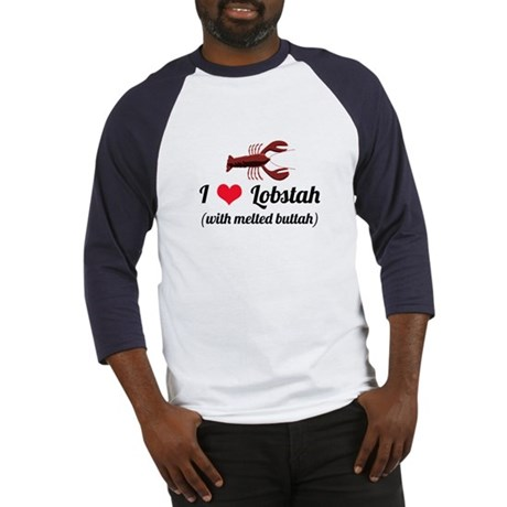 I Love Lobstah Baseball Jersey
