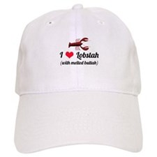 I Love Lobstah Baseball Cap
