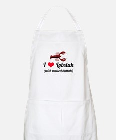I Love Lobstah Apron
