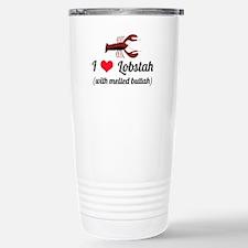 I Love Lobstah Travel Mug