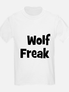 Wolf Freak Kids T-Shirt