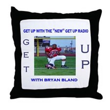 get up radio co-hosts Throw Pillow
