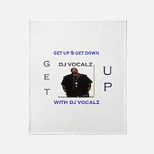 get up radio co-hosts Throw Blanket