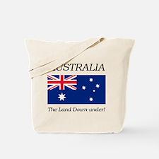 Australian Flag Tote Bag