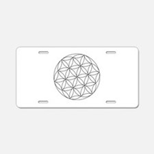 Seed Of Life Symbol Aluminum License Plate