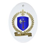 ACHEE Family Crest Oval Ornament
