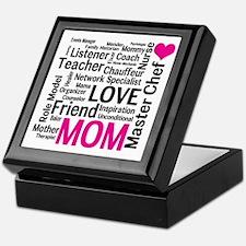 Mothers Day or Mom's Birthday Keepsake Box