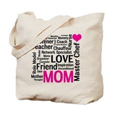 Mothers Day or Mom's Birthday Tote Bag