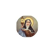 Saint Clare Mini Button (10 pack)