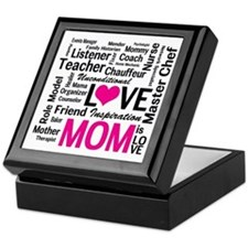 Do it All Mom, Mother's Day, Birthday Keepsake Box