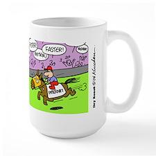 Faster Faster -Mug
