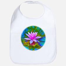 Waterlily, Lotus, Lilypad Bib