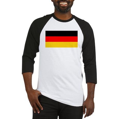 Germany German Blank Flag Baseball Jersey