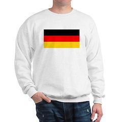 Germany German Blank Flag Sweatshirt