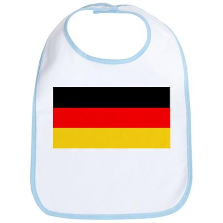 Germany German Blank Flag Bib