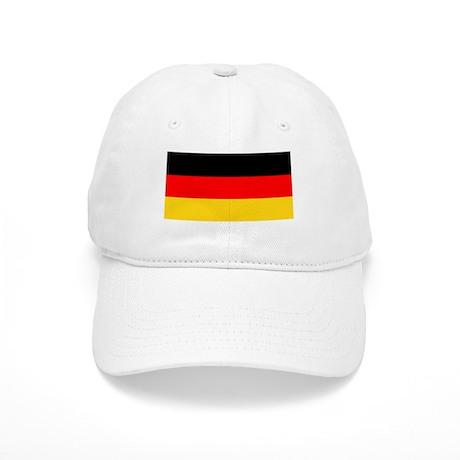Germany German Blank Flag Baseball Cap Hat
