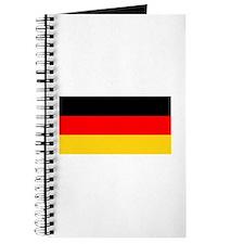 Germany German Blank Flag Journal