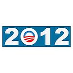 2012 Obama Icon Bumper Sticker