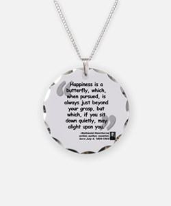 Hawthorne Happiness Quote Necklace