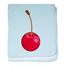 Cherry Icon baby blanket