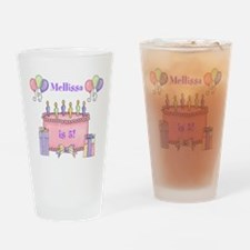 Personalized Birthday Girl Drinking Glass