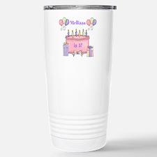 Personalized Birthday G Thermos Mug