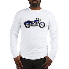 Cute Biker art Long Sleeve T-Shirt