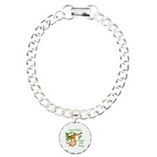 Mommy's lil monkey birthday Bracelet