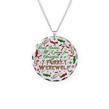 Dear Santa Furry Werewolf Necklace