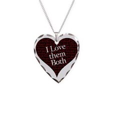 Edward Jacob I love them both Necklace