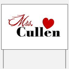 Mrs. Edward Cullen Yard Sign