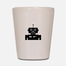 Retro Robot Shape Shot Glass