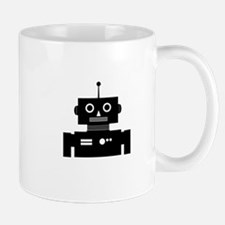 Retro Robot Shape Mug