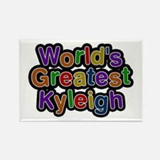 World's Greatest Kyleigh Rectangle Magnet