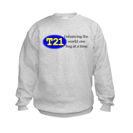 Enhancing the world Kids Sweatshirt