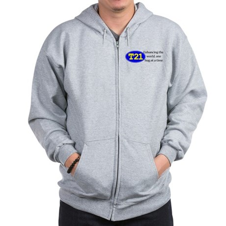 Enhancing the world Zip Hoodie