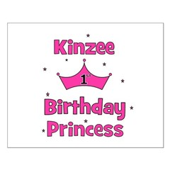 1st Birthday Princess Kinzee! Posters