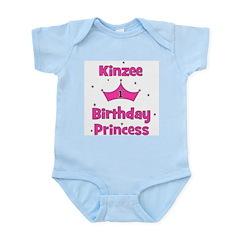 1st Birthday Princess Kinzee! Infant Bodysuit